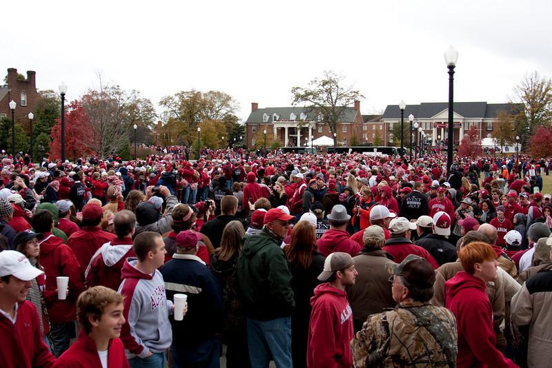 Alabama - Auburn 2010