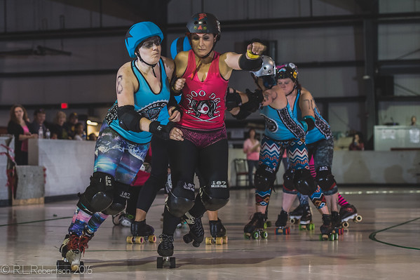 2016/10/15 Jewel City Rollergirls vs. Valley of the Derby Dollinquents