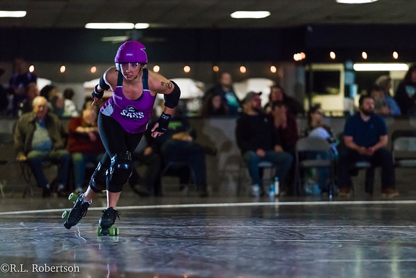2018/03/24 Sass vs. Avalanche City Roller Derby