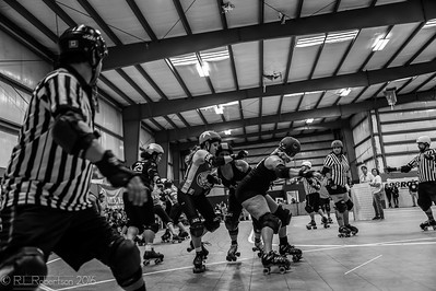 Beckley Area Derby Dames All Stars & BADD Intentions (B-Team)