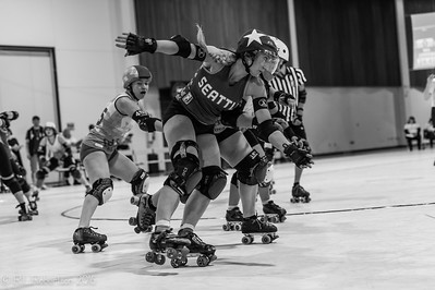Rat City Rollergirls at the Big-O Tournament 2016