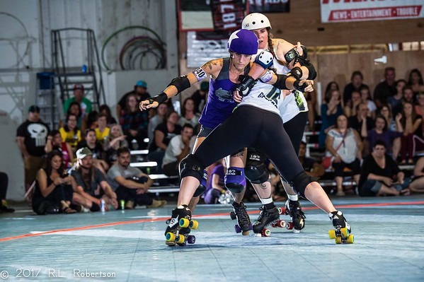 2017/08/19 Rat City Rollergirls All-Stars vs. Rose City Rollers All-Stars