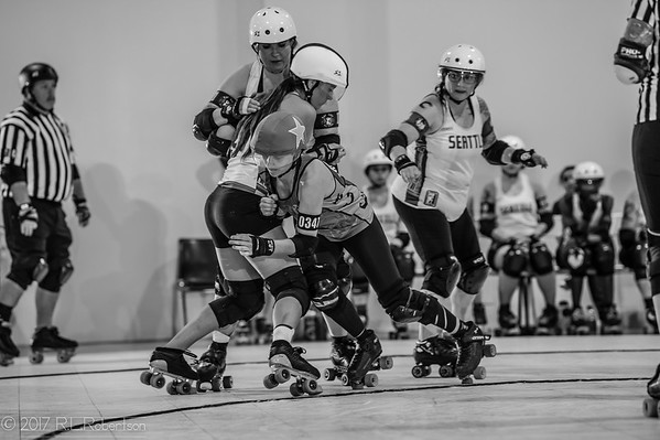 2017/05/06 Rat City Rollergirls vs Crime City Rollergirls