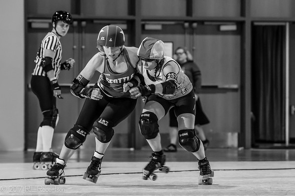 2017/05/07 Rat City Rollergirls vs Helsinki Rollergirls