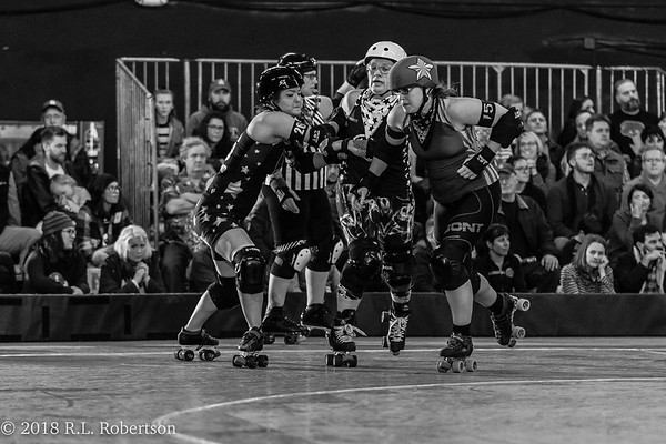 Derby Liberation Front vs The Throttle Rockets