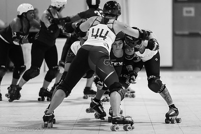 Rose City Rollers All-Stars & B Teams @ The Big-O 2016.
