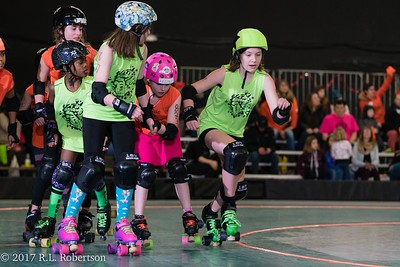 Acid Pops vs  Orange Crush (Tootsy Rollers - Positional Derby)-9