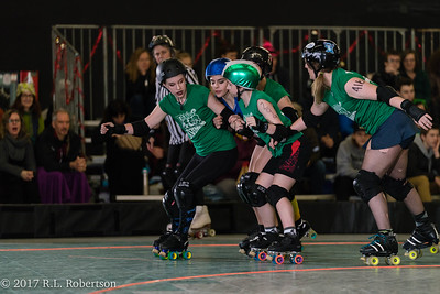 Toxic AvengHers vs  Mighty Rollers (Division 2 - Full Contact Derby)-22