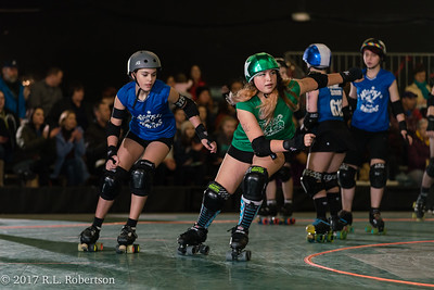 Toxic AvengHers vs  Mighty Rollers (Division 2 - Full Contact Derby)-16