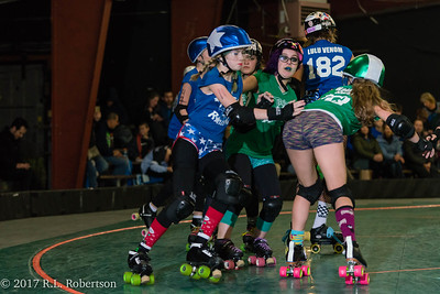 Toxic AvengHers vs  Mighty Rollers (Division 2 - Full Contact Derby)-29