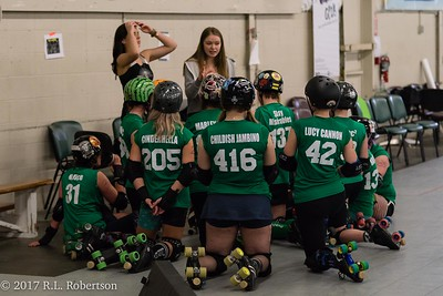 Toxic AvengHers vs  Mighty Rollers (Division 2 - Full Contact Derby)-2