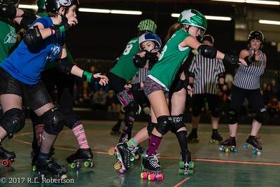 Toxic AvengHers vs  Mighty Rollers (Division 2 - Full Contact Derby)-21