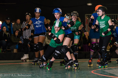 Toxic AvengHers vs  Mighty Rollers (Division 2 - Full Contact Derby)-12