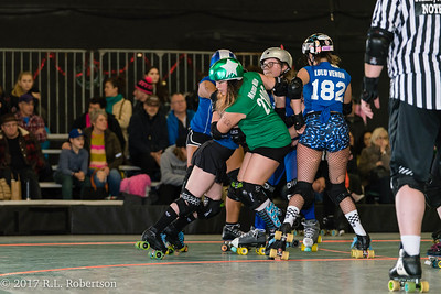 Toxic AvengHers vs  Mighty Rollers (Division 2 - Full Contact Derby)-8