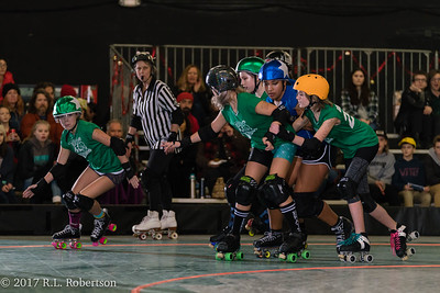 Toxic AvengHers vs  Mighty Rollers (Division 2 - Full Contact Derby)-30