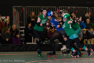 Toxic AvengHers vs  Mighty Rollers (Division 2 - Full Contact Derby)-19