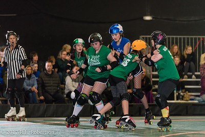 Toxic AvengHers vs  Mighty Rollers (Division 2 - Full Contact Derby)-27