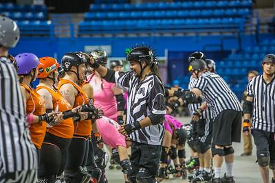 Bout #5: Orange Crush vs. Yukon