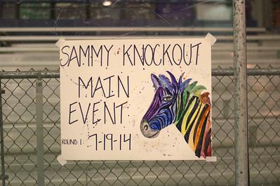 7/19/2014 Sammy Knockout's Refereeing Debut