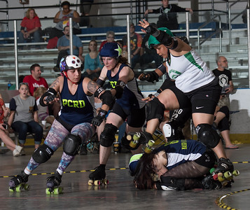 20150516 B-Sides vs Port City Roller Derby