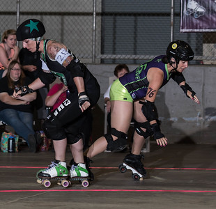 20150711 Roc Stars at NEO Roller Derby