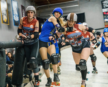 12/01/2018 AZDD Scrappers vs Valkyries ©Keith Bielat