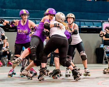 2018 WFTDA  Championships New Orleans Game7  Jacksonville Crime City ©Keith Bielat