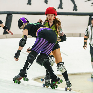 2/9/2019 AZDD Bombshells vs Coffin Draggers ©Keith Bielat