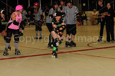 Day 1 - Silicon Valley Roller Girls vs Tent City Terrors