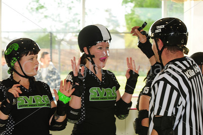 Day 1 - Silicon Valley Roller Girls vs Atomic Assault