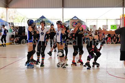 Day 2 - Santa Cruz Derby Girls vs Tuscon Roller Derby