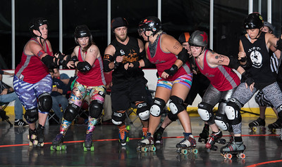 Ithaca League of Women Rollers 2015