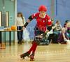 29 October 2016 at Glasgow Caledonian University. <br /> Mean City Roller Derby v Skelpies