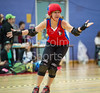 29 October 2016 at Glasgow Caledonian University. <br /> Mean City Roller Derby v Skelpies