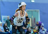 5 August 2017 at The Arc, Glasgow Caledonian University. <br /> Mean City Roller Derby take on The North East Beast