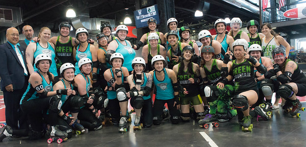 20160528 QCRG Lake Effect Furies vs Green Mountain Roller Derby