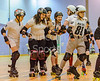23 March 2019 at the Arc, Glasgow Caledonian University.<br />  Rollerstop Reckers v Rollerstop Rebels