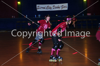 Sacred City Roller Girls vs Rocky Mountain Roller Girls - 11 July 2009