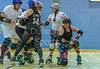2 December 2017 at The Arc, Glasgow Caledonian University. Mean City Roller Derby - Mean Young Team v City Fleeto