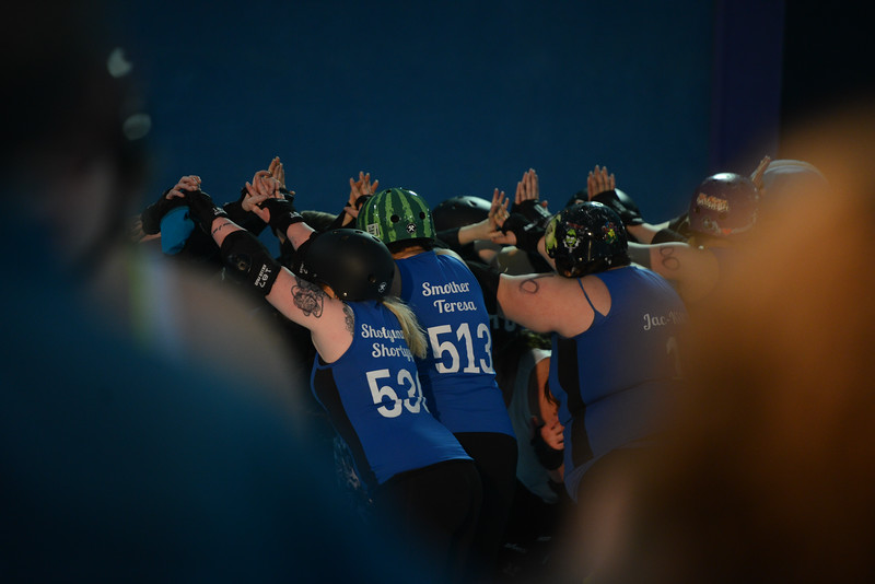 Nor Cal Roller Girls, Saturday, February 24, 2018, in Chico, California. (Carin Dorghalli -- Enterprise-Record)
