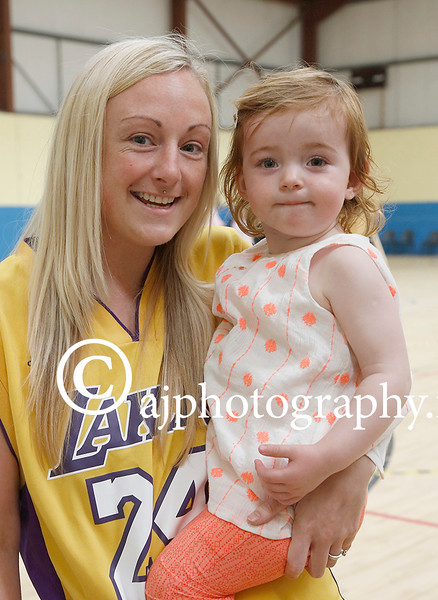 EEEjob 28/05/2016  SPORT/SOCIAL Pictured at the Roller Derby held in Little Island, l - r Nora Dennehey and Willow Hourahan from Cork . Picture: Andy Jay