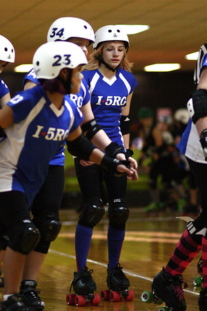 I5 Rollergirls B Team vs. Seattle Derby Brats