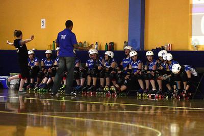 I5 Rollergirls vs. Bellingham Blunt Force Trauma