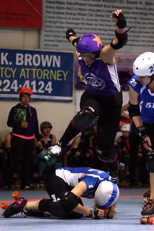 I5 Rollergirls vs. Portland Rosebuds