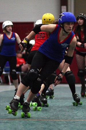 I5 Rollergirls vs. Rocky Mountain Roller Punks