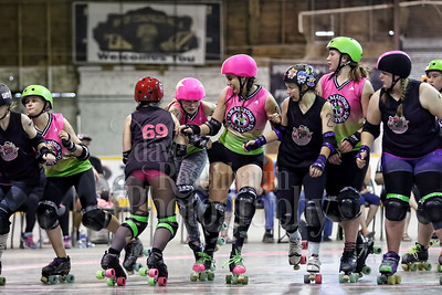 2016 Roller Derby Tournament in Bienfait