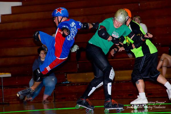 AZMD Phx Rattleskates DangerZone vs The Sting 3-2-2013