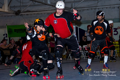 AZMD Phx Rattleskates vs Dallas Deception 2-23-2013