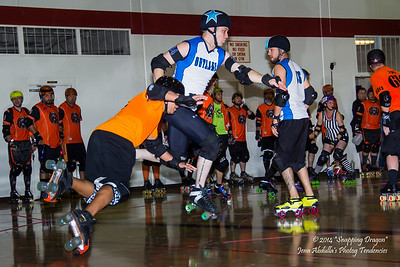 AZMD Sausagefest Battleskates v. Denton Outlaws 8-14