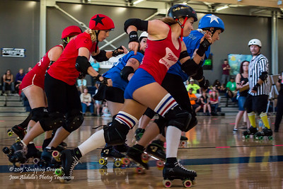 AZRD Miller High Wives v Pretty Brutal Rollers